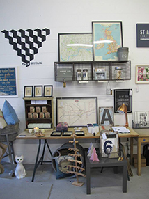 Visual Merchandising Styling-table-&-wall-pics
