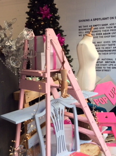 Freelance visual merchandiser - ladder display