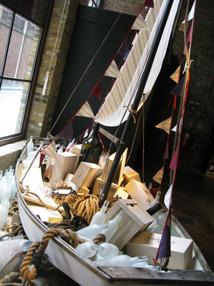Freelance visual merchandiser - boat display