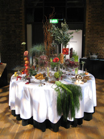 Visual Merchandising Events - table display