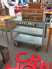 Visual Merchandising Prop Finder - Props-vintage-trolly