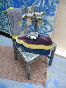 Freelance visual merchandiser - chair props