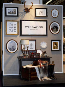 Visual Merchandising Events - Wedgwood wall display